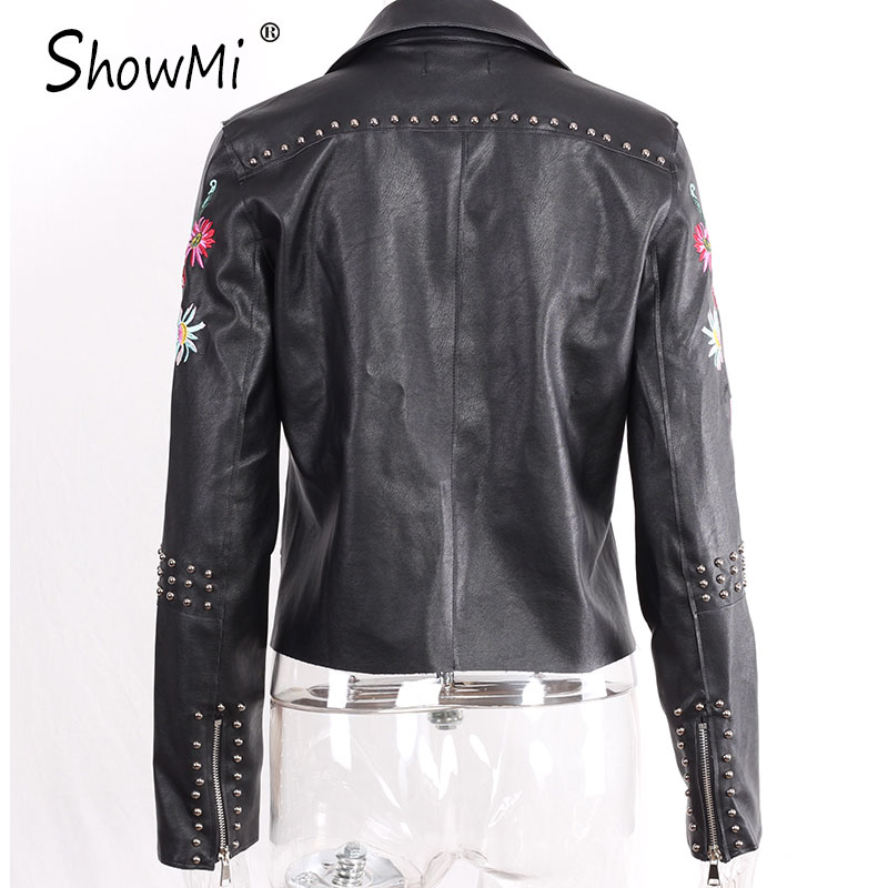 HTB13CTOQFXXXXXLXXXXq6xXFXXXs - Floral Coat Zipper Flower Embroidered Jackets