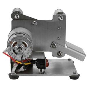 Image 4 - Winkel Grinder Schleifen Maschine Gürtel Grinder Mini Elektrische Gürtel Sander DIY Polieren Schleifen Maschine Cutter Kanten Spitzer
