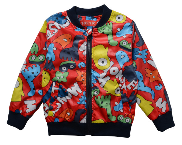 d752089d9276 Casual fashion style Jackets for Boys Girls Kids Fashion Cartoon Jackets  for Children Jacket Kid Girls Outerwear Coat