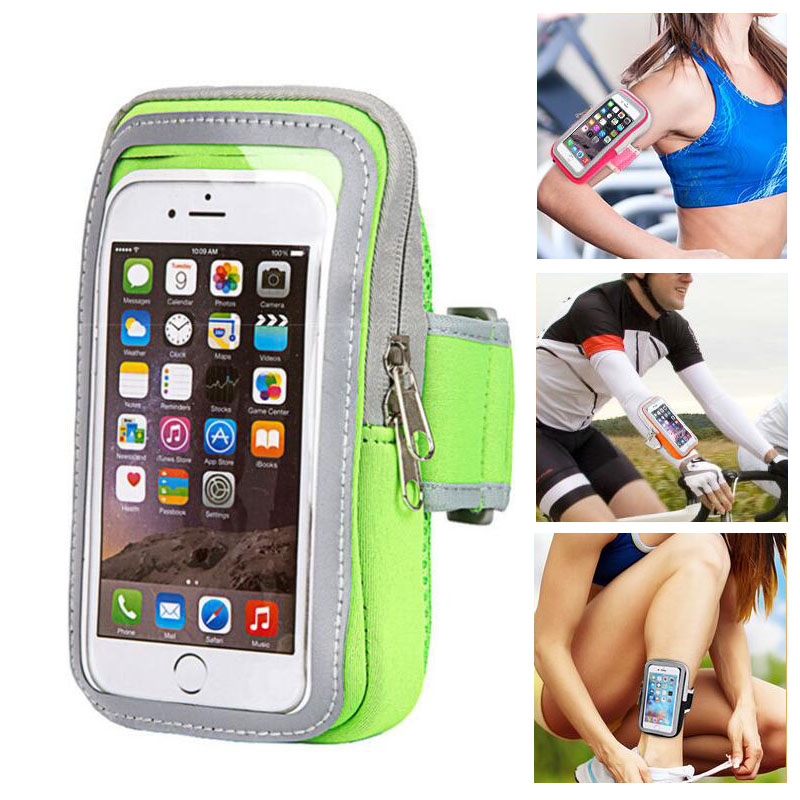 Mobile Phone Accessories Friendly Universal Sport Armband Phone Bag Case For 4-6 Inch Smartphones Running Gym Arm Band Belt Pouch Cover For Iphone Samsung Xiaomi