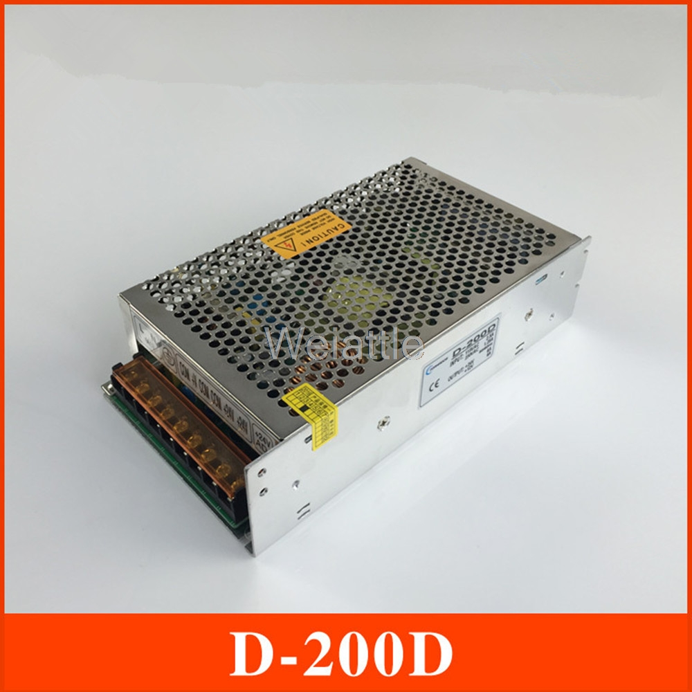 DC24V 12V 6A 4A Double path Switching Power Supply 200W 5V 12V vc15 4a dc24v new in stock