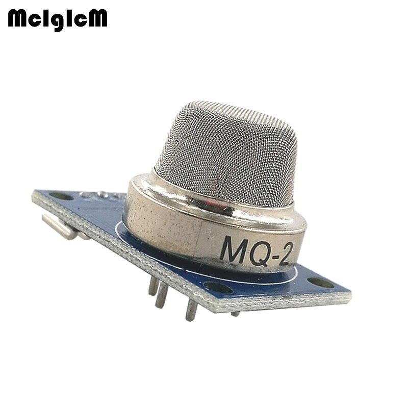 MCIGICM 100pcs MQ 2 MQ2 Smoke Gas LPG Butane Hydrogen Gas Sensor Detector Module