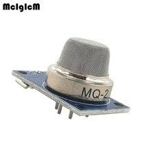 MCIGICM 100 pcs MQ 2 MQ2 Fumaça GLP Gás Butano Hydrogen Gas Detector Sensor Module