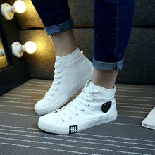 High Quality Hard-Wearing Breathable Fashion Luxury Casual High Top Canvas Men Shoes Spring Autumn Footwear Sneakers For Man 2018 autumn new man breathable sneakers high quality leather luxury men sneakers streetwear casual men lace up sneakers footwear