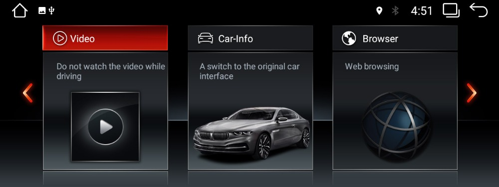 BMW ID6 UI on android stereo 2