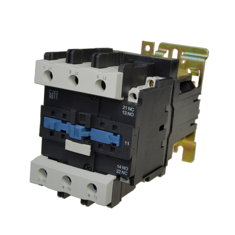 цена на LP1-D9511 Rated Current 95A 3Poles+1 NC+1NO 24VDC Coil Voltage DC Contactor Motor Starter Relay DIN Rail Mount