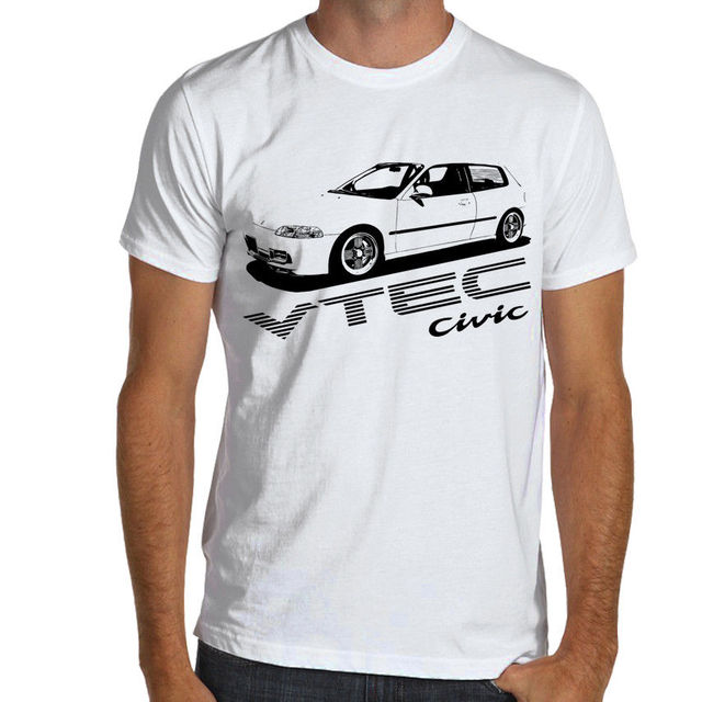 US $14 24 5% OFF|2019 Summer Style Men Tee Shirt Jdm Racings Mugen Civic  Type R EG SOFT Cotton T Shirt S XXXL Multi Colors-in T-Shirts from Men's
