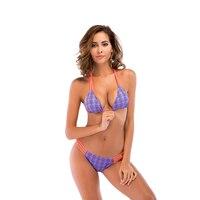 Micro Bikini Mini Swimwear High Waisted Swimsuits Women Summer Bandage Halter Bikinis Beach Wear Bathing Suit