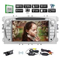 Android 6.0 Car Stereo 7'' 2 Din For Ford Focus in console GPS Headunit tape recorder stereo radio Audio Radio Stereo Head Unit