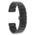 22mm correa de cerámica completa + venda de reloj del removedor del acoplamiento para el vector luna meridiano butterfly hebilla correa de pulsera de la muñeca negro blanco