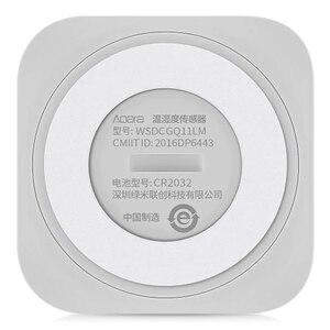 Image 5 - 2 개/몫 AQara 스마트 온도 습도 센서 ZigBee Wifi 무선 스마트 홈 app와 함께 작동