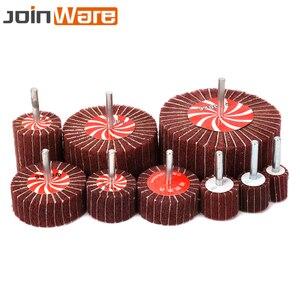 Image 3 - 2/10/20 個不織布合フラップブラシ 320 グリット直径 20 25 30 40 50 60 70 80 100 ミリメートル研磨ロータリーツール高品質