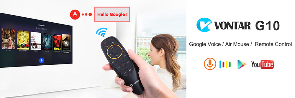 MX3 Air Mouse 2.4G Wireless mini keyboard with Voice Remote Control  IR learning Gyroscope For Android TV Remote T9 TV BOX