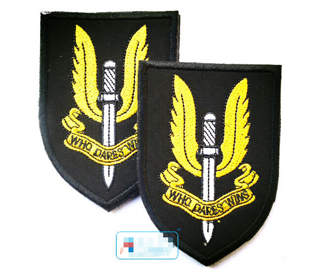 Badges Energetic Embroidered Country Flag Badge 3d Tactical Badges Fabric Cloth Combat Armband Badges
