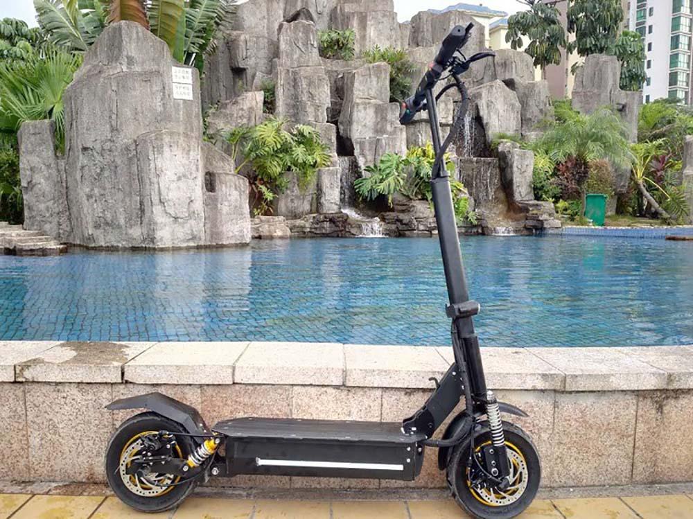 2000 w Puissant Scooter Électrique Double Moteur Planche À Roulettes Hors Route Hoverboard Mini Vélo avec Siège pour Adultes
