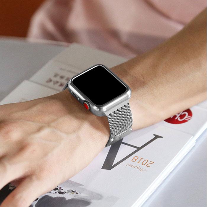 Bracelet Apple Watch Coque de Protection maille Milanais