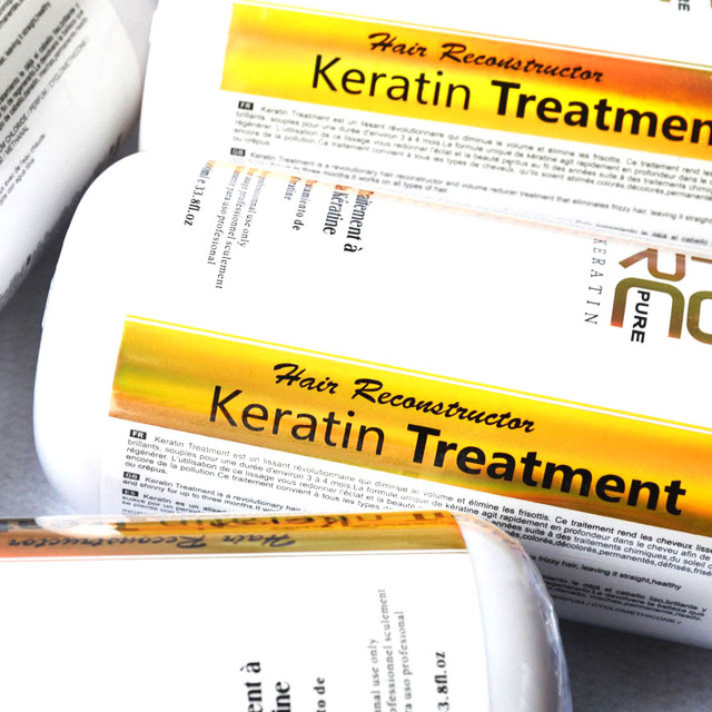 Hair straightening keratin treatment 5% formalin promotes healing of hair 1000ml keratin treatment with collagen free shipping