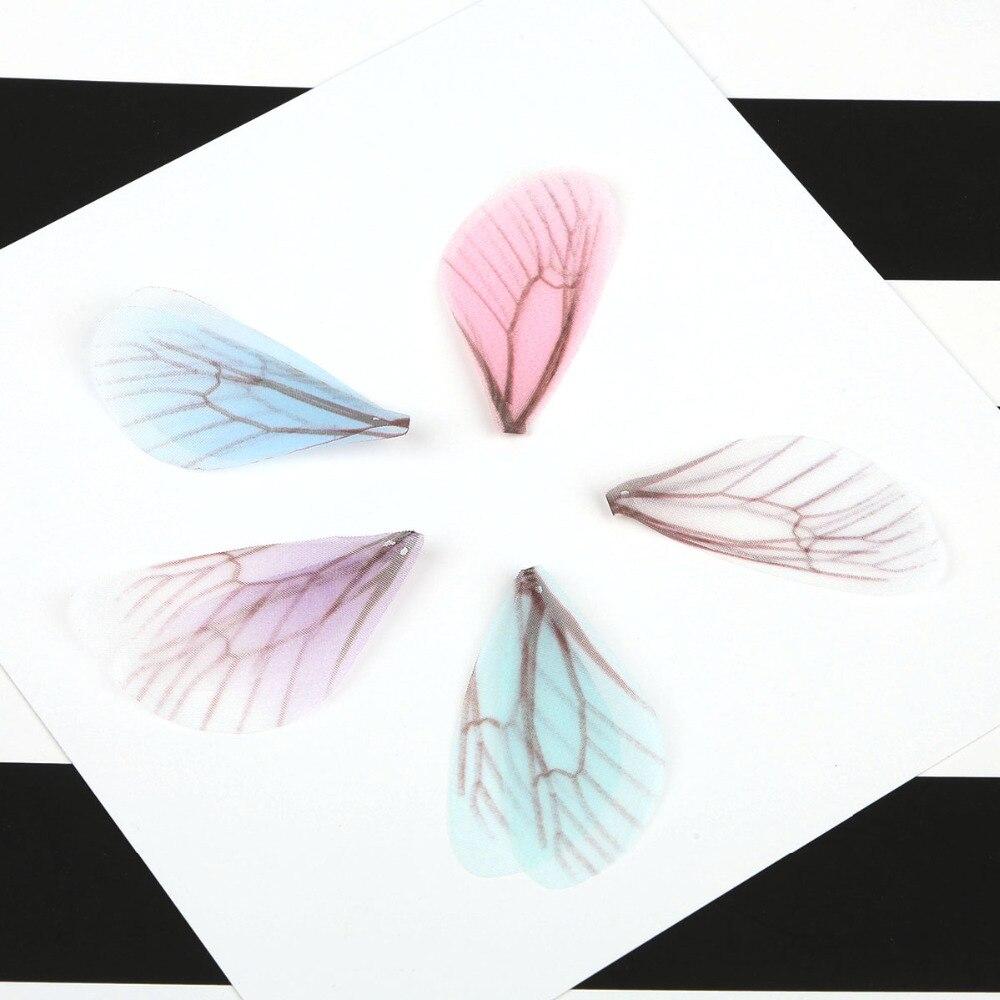 4 шт. 8 см красочные моделирования пряжа бабочки шарм подвеска для женщина серьги ювелирных изделий поделки ручной работы интимные аксессуары