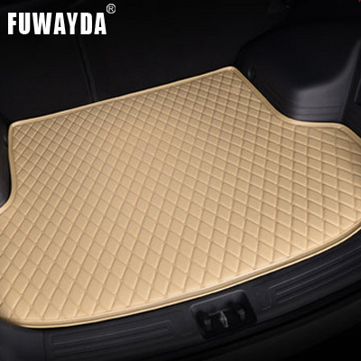 FUWAYDA car ACCESSORIES Custom fit car trunk mat for Hyundai i30 2009-2014 years travel non-slip  waterproof Cargo Liner custom fit pu leather car trunk mat cargo mat for audi a6 c7 2011 2012 2013 2014 2015 2016 2017 allroad avant 5d cargo liner