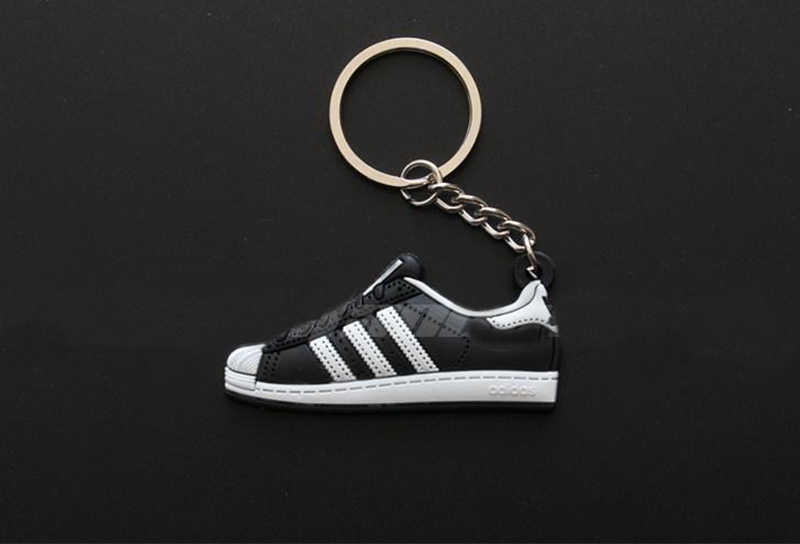 979cf55a9f12 ... 10Pcs Lots Anime Jordan Pendant Superstars Keychain Silicone Sneaker  Pendant Figure Toys For Man Woman ...