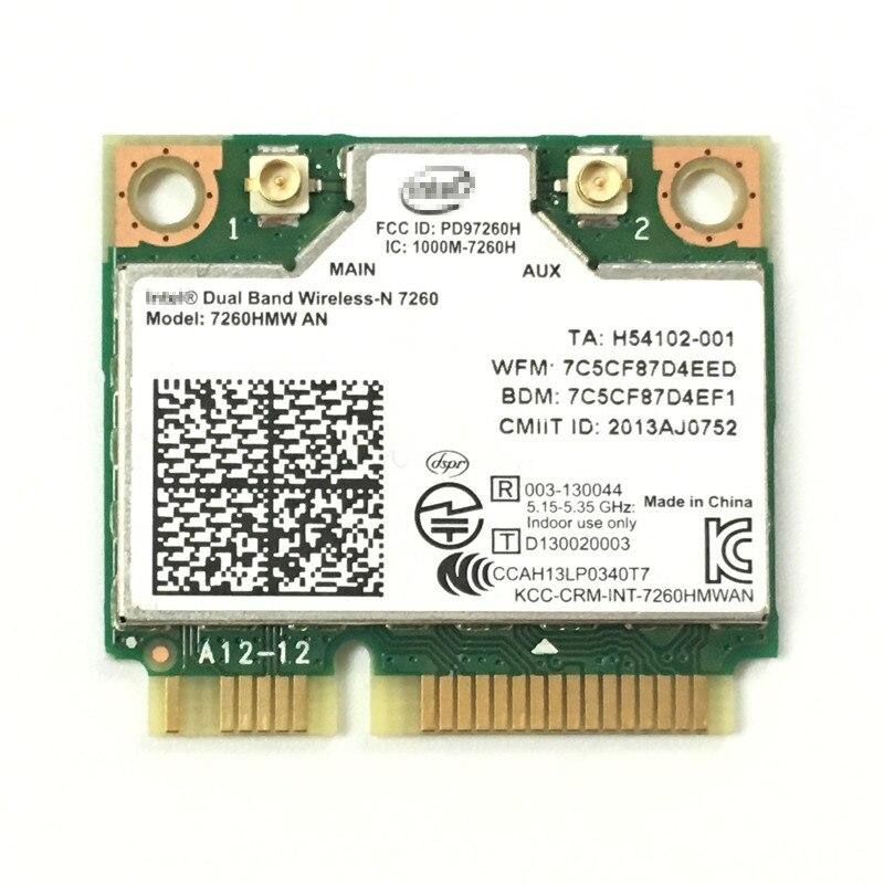 Dual Band kablosuz N7260 INTEL 7260AN 7260HMW Wi Fi Bluetooth 4.0 2.4G / 5G Linux/Win7/Win8/Win10/AP|wi-fi bluetooth|7260hmw andual band wireless - AliExpress