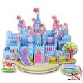 Hand Self 3D Puzzle Jigsaw Puzzles  Children Toys Developmental 3d Diy Puzzle Lovely Paper Castles Houses