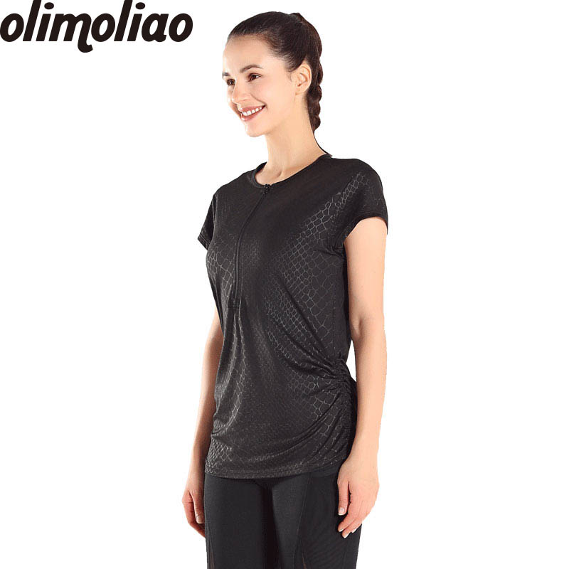 T shirt for fitness Short Sleeve Clothes Tops for Woman Dry Quick Gym Yoga Shirt Tights Womens Sport for Running Gym Fitness
