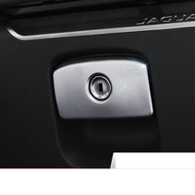 lsrtw2017 pearl chrome abs car co-pilot switch trims for jaguar f-pace xe xf 2016 2017 2018 2019
