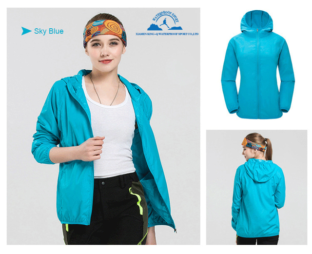 Aliexpress.com : Buy 2017 quality waterproof light Jacket Women ...