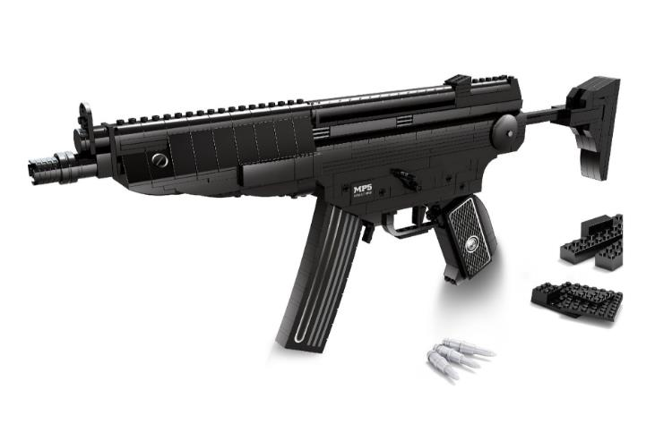 New Military Weapons Building Blocks Classic MP5 Submachine gun Model Compatible with Lepin Toys Bricks Best Gift For Children цена