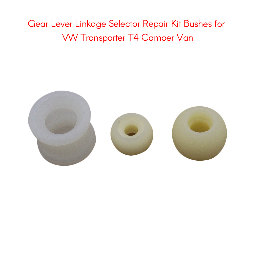 Gear Lever Linkage Selector Repair Kit Bushes for VW Transporter T4 Camper  Van Auto Accessories