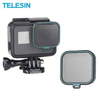TELESIN Polarizing Filter Circular Lens Protector Protective CPL Lens Filter for GoPro Hero 5 Hero 6 Hero 7 Camera Accessories