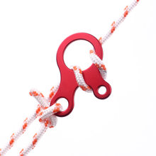 Snail climbing buckle 3 hole fast knot rope outdoor tent adjust stop slip tighten brake plate EDC(China)