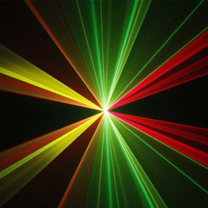 Canshuo DM-RGY200 небольшой с инфракрасным пультом управления 8 CH DMX512 лазерное сценическое освещение Сканер DJ диско вечерние показать проекционное оборудование лазер освещения