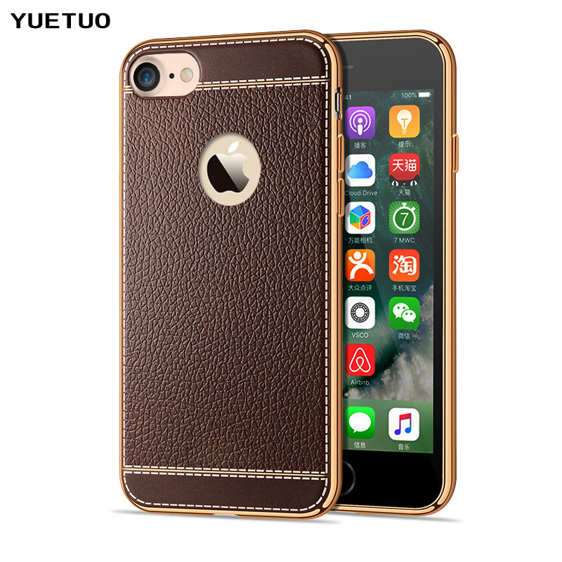 US $2.98 20% OFF|YUETUO luxury coque,cover,case for apple iphone5 iphone 5 5s se 5se s silicone silicon phone accessories leather Pattern tpu i-in ...