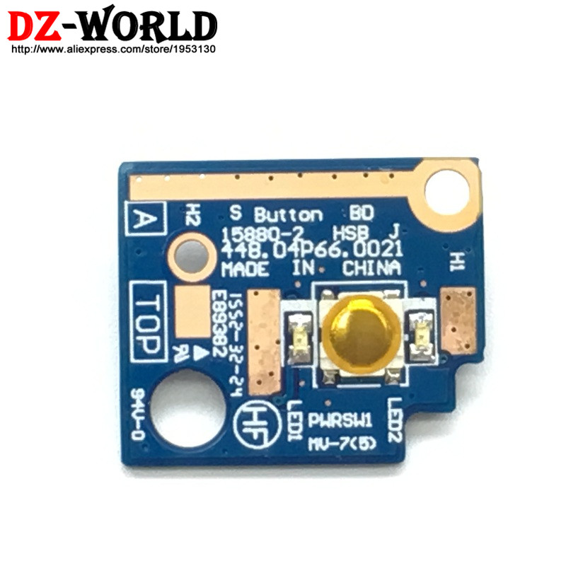 New Original for Lenovo Thinkpad X1 Carbon 4th TYPE 20FB 20FC CARDPOP Button Subcard Power Switch Board 00JT819
