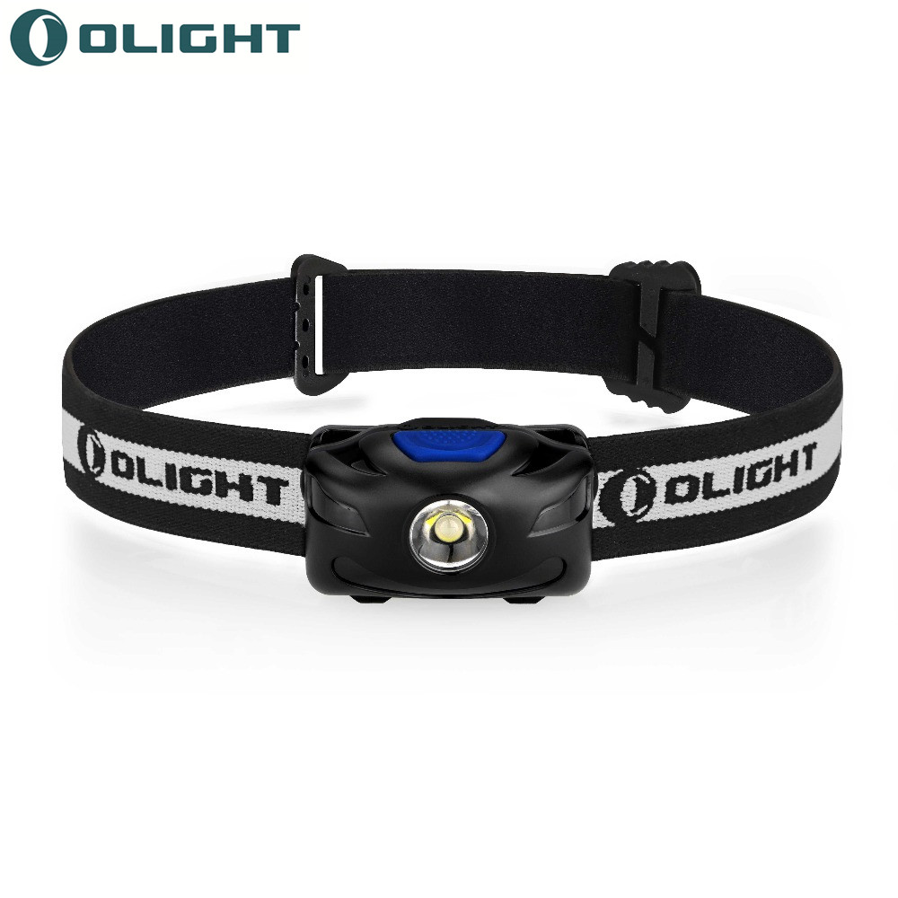 Olight Head Torch Flashlights H05S Active Compact LED AAA Bright led lamp Batteries Included 200lumens adjustable