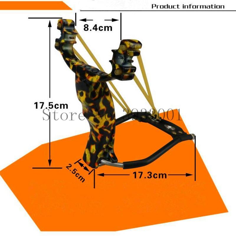 c0c81dc9c91ae Al aire libre precisión puntería profesional corte de alambre de acero  inoxidable Slingshot goma plana envío chorroUSD 15.59-17.54 piece