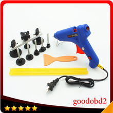 PDR Tools Set Paintless Dent Repair Puller Remover Pulling Bridge Dent Removal Hand Tool Kit with Glue Sticks Hot Melt Glue Gun