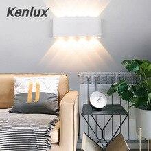 Современные светодиодные Настенные светильники двунаправленный, настенный светильник скандинавский внутренний свет 85-265 в Открытый Алюминиевый светодиодный фонарик водонепроницаемый садовый светильник