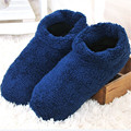 1Pair Selling 2016 New Men's Indoor Soft-Soled Slippers, Soft and Warm Non-Slip Floor Indoor Slippers Wooden Floor House Shoes