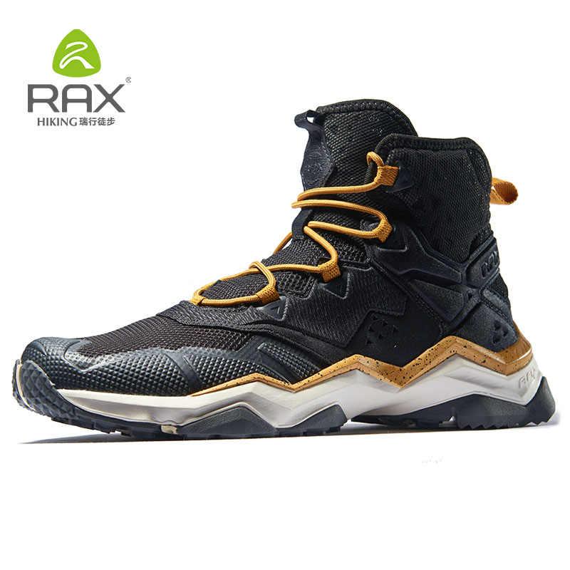 راكس حذاء للسير مسافات طويلة للماء في الهواء الطلق الرياضة أحذية رياضية للرجال أحذية التنزه الثلوج الدافئة خفيفة الوزن حذاء ارتحال تنفس