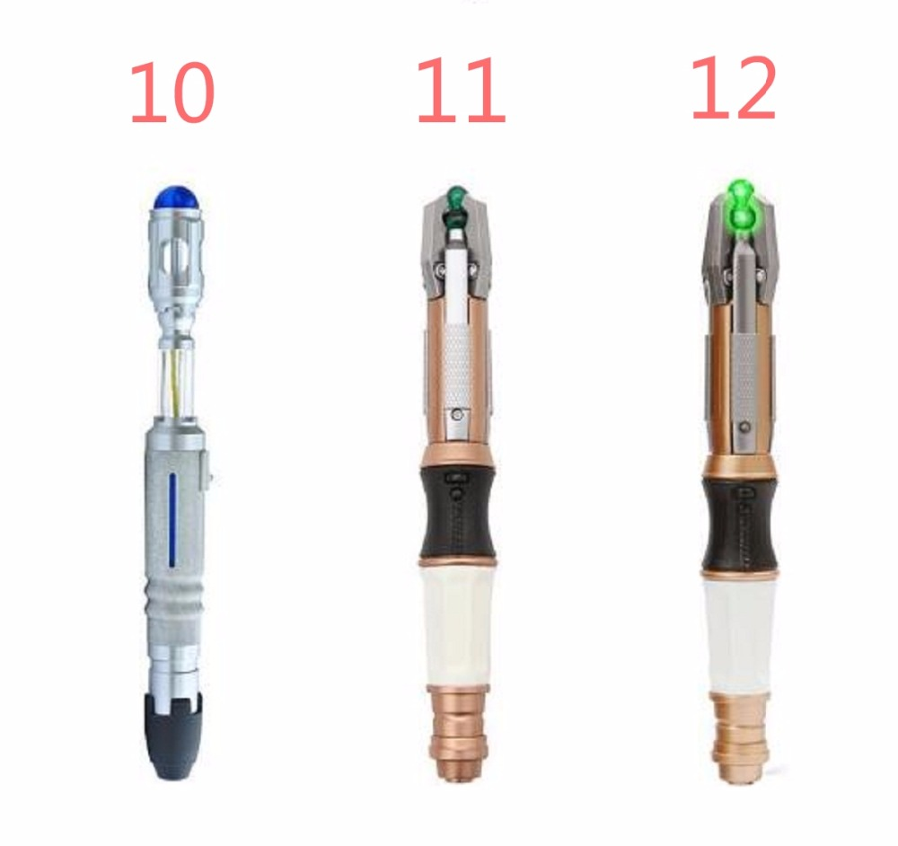 NEW hot Dr.WHO 10th 11th 12th Sonic Screwdriver Doctor who collectors action figure toys Christmas gift dollAction & Toy Figures   -