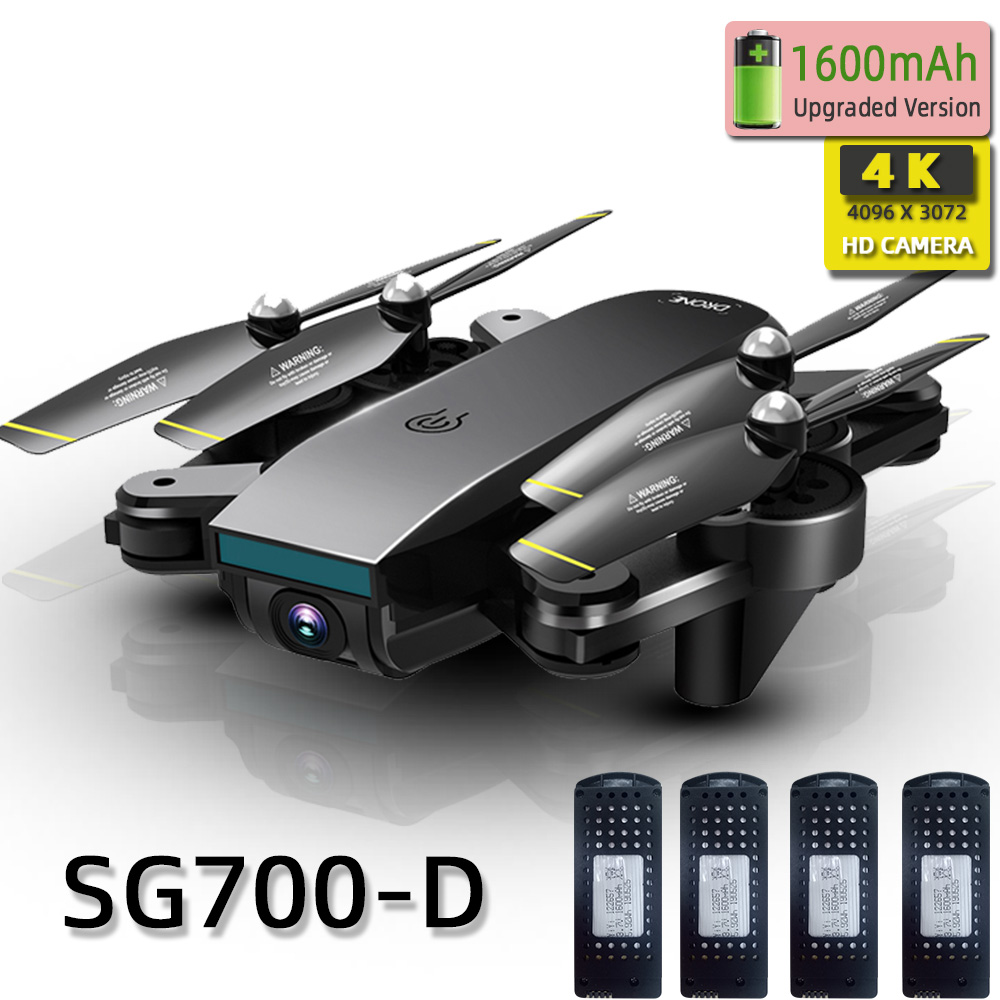 SG700D Quadcopter Dron Drones With Camera Hd Mini Drone Rc Helicopter 4k Toys Profissional Drohne Com Camera Quadrocopter Racing