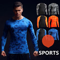 NEW Man Tshirt Long Sleeve Compression Fitness Men Tee Shirt Homme Body Engineers Workout Clothes Camouflage Bodybuilding Wear