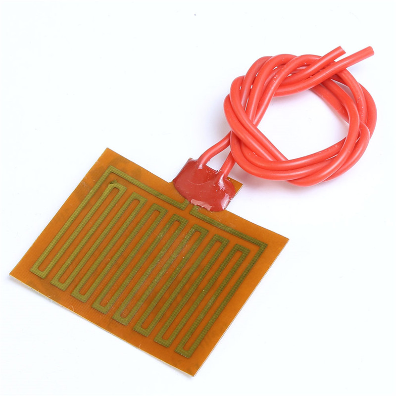 30x40mm Polyimide Electric Heating Film Plate Heated Panel PI Electric Film 5V 1W For Electrical Heating Appliance Heating Panel
