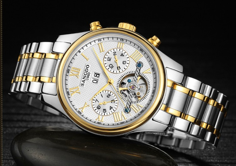 40mm Sangdo Business watch Automatic Self-Wind movement Sapphire Crystal High quality Mechanical Wristwatches Men's watch 0001 40mm sangdo business watch automatic self wind movement sapphire crystal high quality 2016 new fashion men s watch 0002