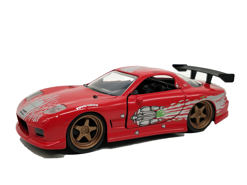 US $14 89 |1:32 Jada Toys Mazda RX7 FD35 1993 Fast & Furious Diecast Model  Car-in Diecasts & Toy Vehicles from Toys & Hobbies on Aliexpress com |