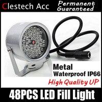 8,28 самая большая распродажа! 48LED осветитель ИК инфракрасный Купол hd ночного видения улучшение заполняющий свет видения 40 м лампа Securit 850nm 12 V