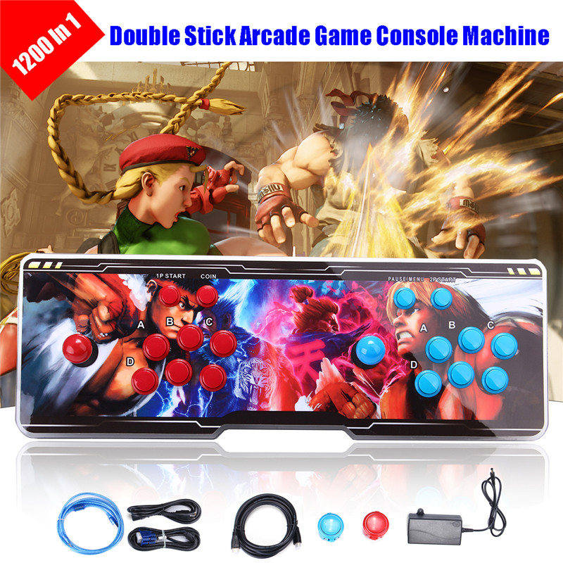 1220 Game Console with Built-in 1220 Retro Games Support VGA, HDMI, USB, AUX Port Connect To TV Computer Game Console games [a1] l ile aux prepositions